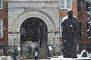 St. Ignatius statue at Gonzaga. (Photo by Gonzaga University.)