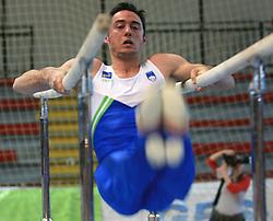 "Alen Dimic at event ""Slovenian Gymnastics stars"" after the European Championships in Milano, on April 6, 2009, in Hall Slovan, Kodeljevo, Ljubljana, Slovenia. (Photo by Vid Ponikvar / Sportida)"