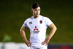 Kieran Wilkinson of England U20 - Mandatory by-line: Robbie Stephenson/JMP - 22/02/2019 - RUGBY - Zip World Stadium - Colwyn Bay, Wales - Wales U20 v England U20 - Under-20 Six Nations