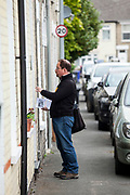 Julian Huppert, the Liberal Democrat candidate for Cambridge canvassing in the Cherry Hinton district of Cambridge. Huppert was MP for Cambridge between 2010-2015. Photos by Antonio Olmos