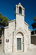 The small church of St Ivan and Theodore (Sv Ivana i Teodora) in Bol, on the island of Brac, Croatia. The oldest church in Bol, it dates back to the 9th or 10th century.