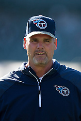 OAKLAND, CA - NOVEMBER 24: Defensive assistance Keith Millard of the Tennessee Titans watches his team before the game against the Oakland Raiders at O.co Coliseum on November 24, 2013 in Oakland, California. The Tennessee Titans defeated the Oakland Raiders 23-19. (Photo by Jason O. Watson/Getty Images) *** Local Caption *** Keith Millard