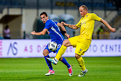 Senijad Ibricic of NK Domzale during 2nd leg football match between NK Domzale and NK Siroki Brijeg in 1st Qualifying round of UEFA Europa League, on July 19, 2018 in Domzale Sports Park, Domzale, Slovenia. Photo by Ziga Zupan / Sportida