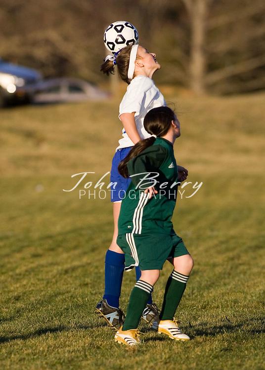 MCHS JV Girls Soccer.vs Louisa.March 15, 2006
