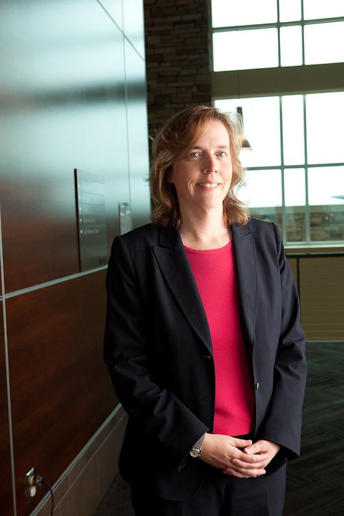 02 September 2011- Dr. Deb Darrington is photographed at The Nebraska Medical Center Cancer Center for Her Magazine.
