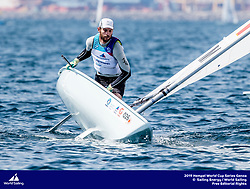 Genoa, Italy is hosting sailors for the third regatta of the 2019 Hempel World Cup Series from 15-21 April 2019. More than 700 competitors from 60 nations are racing across eight Olympic Events.©JESUS RENEDO/SAILING ENERGY/WORLD SAILING<br /> 16 April, 2019.