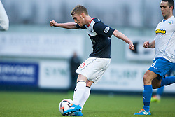 Falkirk 1 v 1 Morton, Scottish Championship game today at The Falkirk Stadium.<br /> &copy; Michael Schofield.