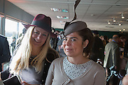 ASTRID HARBORD; DANIELLA HELAYEL, Hennessy Gold Cup, The Racecourse Newbury. 30 November 2013.