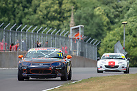 #77 Jeremy CROOK Mazda MX-5 Mk3  during BRSCC Mazda MX-5 Super Series  as part of the BRSCC NW Mazda Race Day  at Oulton Park, Little Budworth, Cheshire, United Kingdom. June 16 2018. World Copyright Peter Taylor/PSP. Copy of publication required for printed pictures. http://archive.petertaylor-photographic.co.uk