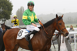 October 26, 2017 - Maisons Laffitte, France, France - Course 5 - Coeur de Beaute - Christophe Soumillon (Credit Image: © Panoramic via ZUMA Press)