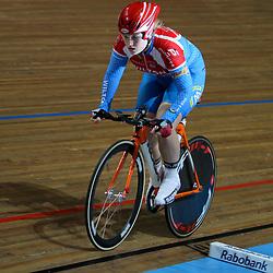 Ilse Miltenburg werd 3e op het NK achtervolging voor junior vrouwen