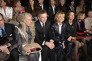 Mme Pompidou and Bernard Arnault. Christian Dior couture. , Polo de Paris, Bois de Boulogne. Paris.   January 2006.  ONE TIME USE ONLY - DO NOT ARCHIVE  © Copyright Photograph by Dafydd Jones 66 Stockwell Park Rd. London SW9 0DA Tel 020 7733 0108 www.dafjones.com