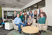 Group Portrait at the U.S. Small Business Administration Remodel/New Offices, Casper, WY.