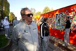 Bozidar Maljkovic, coach of National basketball team of Slovenia walking at Laisves Al. in Kaunas city centre during FIBA Europe Eurobasket Lithuania 2011, on September 14, 2011, in Kaunas, Lithuania.  (Photo by Vid Ponikvar / Sportida)