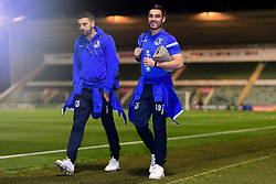 Michael Kelly of Bristol Rovers arrives at Home Park prior to kick off - Mandatory by-line: Ryan Hiscott/JMP - 17/12/2019 - FOOTBALL - Home Park - Plymouth, England - Plymouth Argyle v Bristol Rovers - Emirates FA Cup second round replay