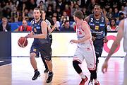Andres Pablo Toto Forray<br /> Dolomiti Energia Aquila Basket Trento - Consultinvest Victoria Libertas Pesaro<br /> Lega Basket Serie A 2016/2017<br /> Trento, 26/03/2017<br /> Foto M. Ceretti / Ciamillo - Castoria