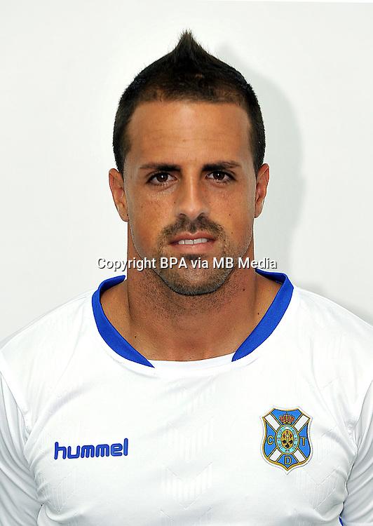 Spain - La Liga Adelante 2014-2015 / <br /> ( Club Deportivo Tenerife ) - <br /> Victor Anino Bermudez &quot; Vitolo &quot;