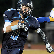 Hoggard High School's Matthew Eakins rushes against Laney Friday October 24, 2014. (Jason A. Frizzelle)