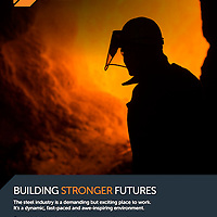 Rebrand photography by Steve Morgan for British Steel June 2016