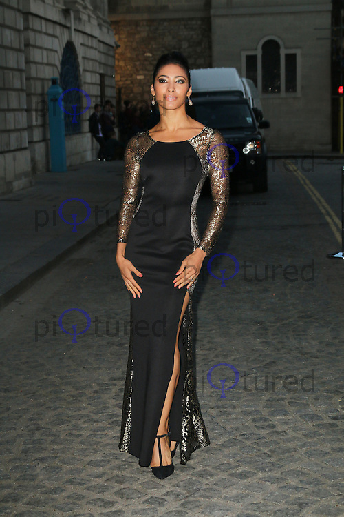 Karen Hauer, Dot Com Children's Foundation Strictly Ballroom - charity dinner, The Mansion House, London UK, 16 September 2014, Photo by Richard Goldschmidt
