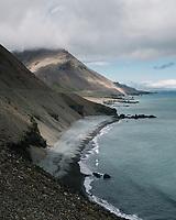 Þvottárskriður, East Iceland.