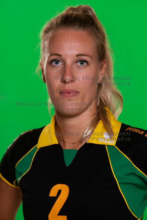 10-09-2018 NED: Team PDK Huizen season 2018-2019, Huizen<br /> The players of Top Division club vv Huizen women season 2018-2019 / Yara van Keeken #2 of PDK Huizen