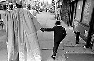 Father and son, Harlem.