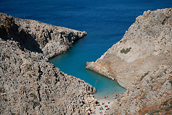 Seitan Limania Beach, Akrotiri, Chania, Crete, Greece