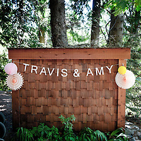 Detail from Travis and Amy's Vancouver Island wedding.