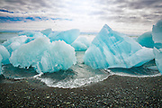 Ice chunks in Jokulsarlon