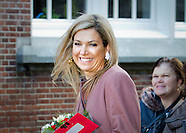 Queen Maxima at jubilee, Leiden 17-02-2016