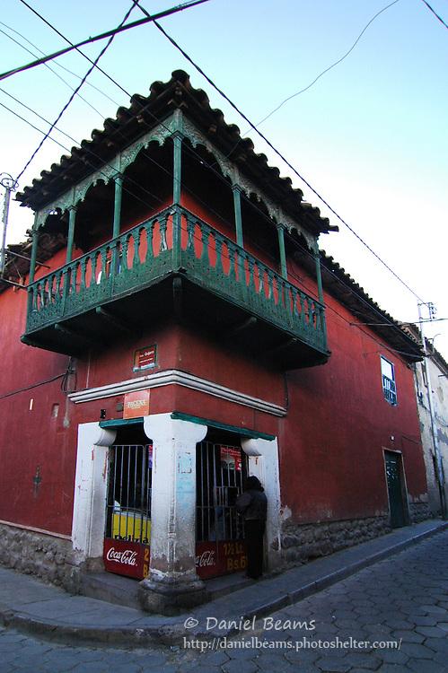 Corner store in Potosi, Bolivia
