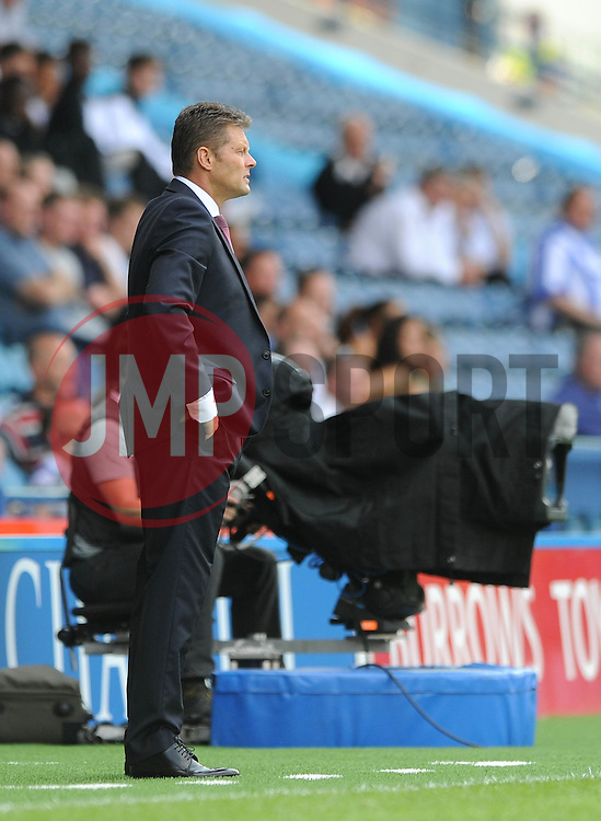 Bristol City manager, Steve Cotterill - Mandatory byline: Dougie Allward/JMP - 07966386802 - 08/08/2015 - FOOTBALL - Hillsborough Stadium -Sheffield,England - Sheffield Wednesday v Bristol City - Sky Bet Championship