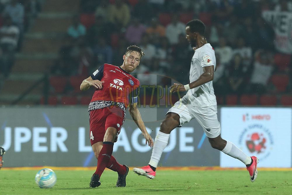 Jose Luis Espinosa Arroyo of Jamshedpur FC during match 2 of the Hero Indian Super League between NorthEast United FC and Jamshedpur FC held at the Indira Gandhi Athletic Stadium, Guwahati India on the 18th November 2017<br /> <br /> Photo by: Ron Gaunt / ISL / SPORTZPICS