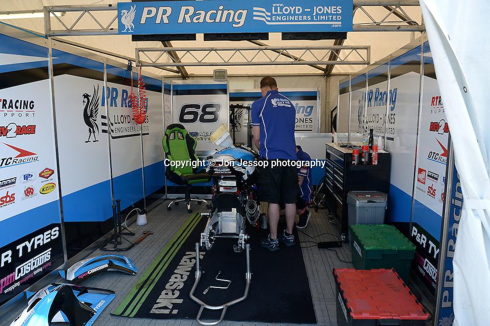 #68 Jed Metcher PR Racing Kawasaki MCE British Superbikes