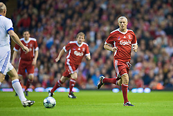 LIVERPOOL, ENGLAND - Thursday, May 14, 2009: Liverpool Legends' Ian Rush in action against All Stars during the Hillsborough Memorial Charity Game at Anfield. (Photo by David Rawcliffe/Propaganda)