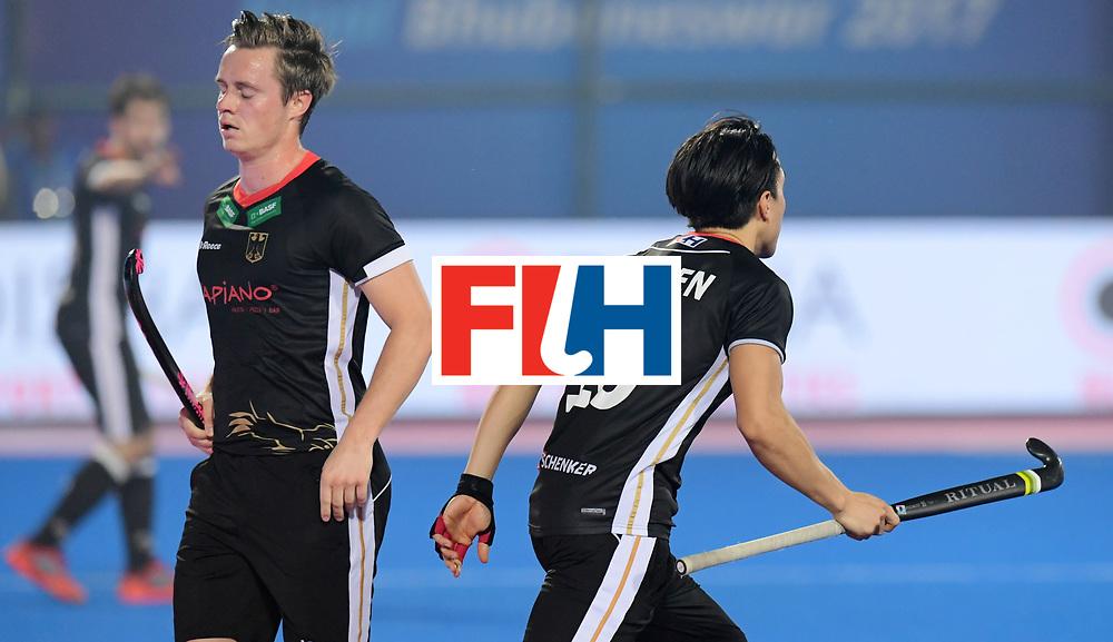 Odisha Men's Hockey World League Final Bhubaneswar 2017<br /> Match id:10<br /> India v Germany<br /> Foto: Mats Grambusch (Ger) and Dan Nguyen (Ger) <br /> WORLDSPORTPICS COPYRIGHT FRANK UIJLENBROEK