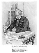 Mr Punch's Personalities. XLVII. - Sir Edwin Lutyens, R A.