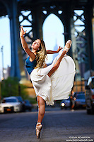 Dance As Art Photography Project- Dumbo Brooklyn, New York with dancer, Mykaila Symes