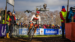 Hikaru KOSAKA (57,JPN) 2nd lap at Men UCI CX World Championships - Hoogerheide, The Netherlands - 2nd February 2014 - Photo by Pim Nijland / Peloton Photos