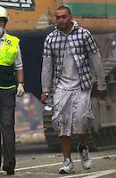 after a Powerful earth quack ripped through Christchurch, New Zealand on Tuesday lunch time killing at least 65 people as it brought down buildings, buckled roads and damaged churches and the Cities Cathedral. Photo Tim Clayton