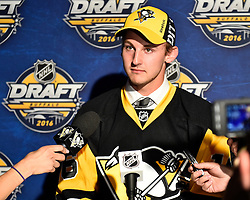 Connor Hall at the 2016 NHL Draft in Buffalo, NY on Saturday June 25, 2016. Photo by Aaron Bell/CHL Images