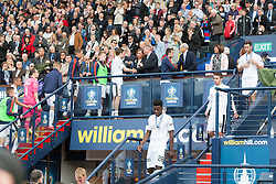 Falkirk's players at the end. Falkirk 1 v 2 Inverness CT, Scottish Cup final at Hampden.