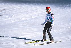 23.02.2019, Bergiselschanze, Innsbruck, AUT, FIS Weltmeisterschaften Ski Nordisch, Seefeld 2019, Skisprung, Herren, im Bild Markus Eisenbichler (GER) // Markus Eisenbichler of Germany during the men's Skijumping HS130 competition of FIS Nordic Ski World Championships 2019 at the Bergiselschanze in Innsbruck, Austria on 2019/02/23. EXPA Pictures © 2019, PhotoCredit: EXPA/ Dominik Angerer