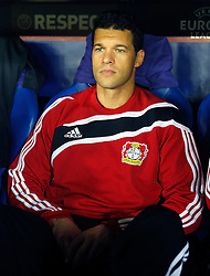 17.03.2011, El Madrigal, Villarreal, ESP, UEFA EL, FC Villarreal vs Bayer 04 Leverkusen, im Bild Bayer 04 Leverkusen's Michael Ballack during UEFA Europa League match.March 17,2011. . EXPA Pictures © 2011, PhotoCredit: EXPA/ Alterphotos/ Acero +++++ ATTENTION - OUT OF SPAIN / ESP +++++