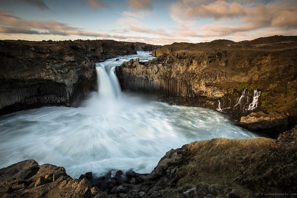Aldeyjarfoss. Iceland