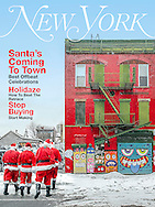 Task: Create & Composite seasonal covers for New York Magazine using my own photography