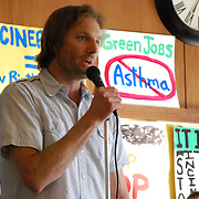 Dan Sordyl speaks at Detroit Incinerator Rally<br /> Detroit Incinerator rally held at the First Unitarian Church of Detroit on May 13, 2008.