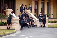 2012 SLC iPad Students on Harefield Steps