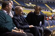Carlo Recalcati, Giovanni Petrucci, Giorgio Chiellini<br /> Nazionale Italiana Maschile Senior - Giorgio Chiellini visita gli Azzurri in Allenamento<br /> FIP 2017<br /> Torino, 23/11/2017<br /> Foto M.Ceretti / Ciamillo-Castoria
